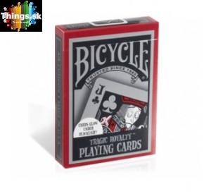 Karty na poker Bicycle Tragic Royalty limitovaná edícia