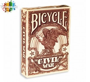 Karty na poker Bicycle Civil War limitovaná edícia