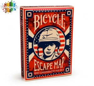 Karty na poker Bicycle Escape map limitovaná edícia